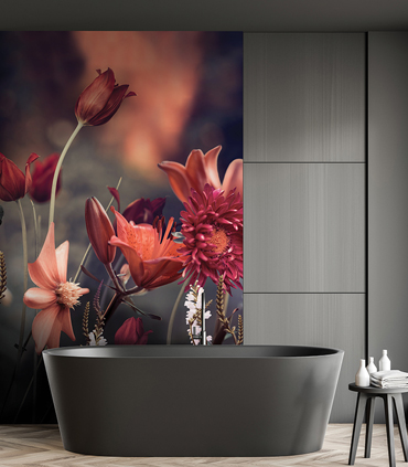 PrintsbyNature-Bathroom-Print-Flowers-Field-Greytones-Design-Exclusive